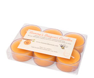 Gift Pack of 6 Tealight Beeswax Candles